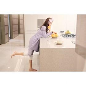 Piyama Wanita Long Sleeve Size M - Purple - 8