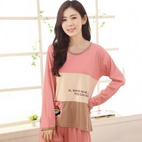 Piyama Sweet Couple Wanita Size M - Pink - 1