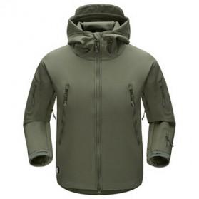 FREE SOLDIER Jaket Water Resistant Windcoat Pria Size S - Green