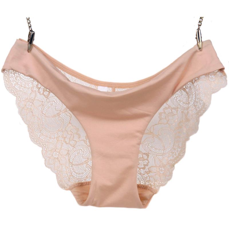 Celana Dalam Wanita Sexy Lace Size S - Cream - JakartaNotebook.com 1491e76101