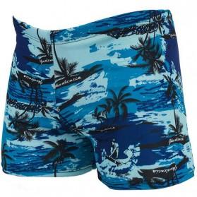 Celana Renang Pria Swimwear Beach Pants - Blue - 1