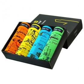 Celana Dalam Boxer Pria Bright Color 4PCS Size L - Multi-Color