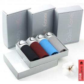Cailin Kanei Celana Dalam Boxer Brief Pria 4 PCS - Size XL - Multi-Color
