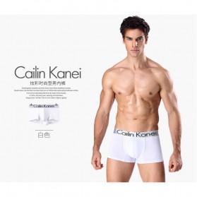 Cailin Kanei Celana Dalam Boxer Brief Pria 4 PCS - Size XL - Multi-Color - 2