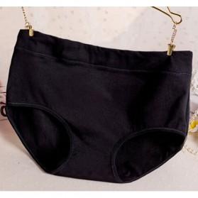 Celana Dalam Katun Wanita Triangle Lingerie Size L - Black