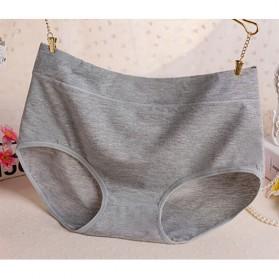 Celana Dalam Katun Wanita Triangle Lingerie Size L - Gray