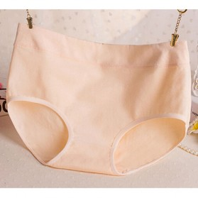 Celana Dalam Katun Wanita Triangle Lingerie Size L - Cream