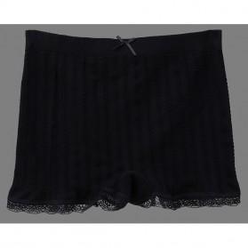 Celana Dalam Wanita Long Waist All Size - Black