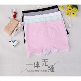 Celana Dalam Wanita Long Waist All Size - Black - 2