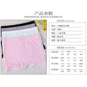 Celana Dalam Wanita Long Waist All Size - Black - 7