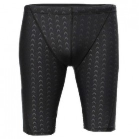 Bin Li Er Celana Renang Pria Sharkskin Size XXL - 708 - Black