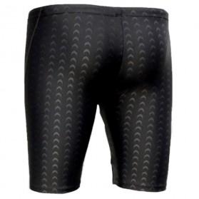 Bin Li Er Celana Renang Pria Sharkskin Size XL - 708 - Black - 2