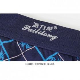 PAILILONG Celana Dalam Boxer Pria Mix Pattern 4 PCS Size XL - 2832 - Multi-Color - 2