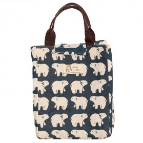 Tas Bekal Lunch Bag Woman / Kids - Dark Blue