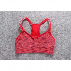 Set Baju Celana Bra Olahraga Wanita Size L - Gray - 2