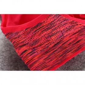 Set Baju Celana Bra Olahraga Wanita Size L - Gray - 4