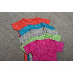 Set Baju Celana Bra Olahraga Wanita Size L - Gray - 5