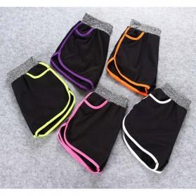 Set Baju Celana Bra Olahraga Wanita Size L - Gray - 9