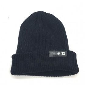 Kupluk Wool Knitted Winter Beanie Hat - Black