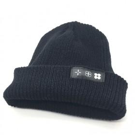 Kupluk Wool Knitted Winter Beanie Hat - Black - 4