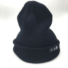 Kupluk Wool Knitted Winter Beanie Hat - Black - 5