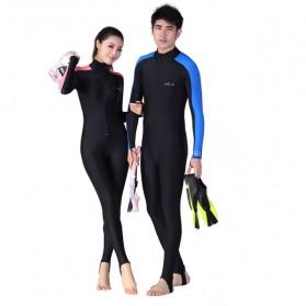 Dive & Sail Baju Renang Wanita Full Body Diving Style Swimsuit Size L - Pink - 1
