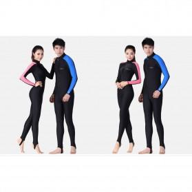 Dive & Sail Baju Renang Wanita Full Body Diving Style Swimsuit Size L - Pink - 3