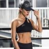 Sport Bra Wanita One Shoulder Size S - Black