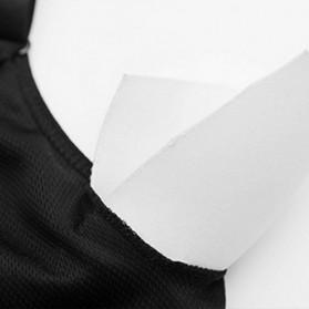 Push Up Sport Bra Wanita Breathable Size M - Black - 3