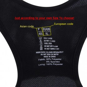Push Up Sport Bra Wanita Breathable Size M - Black - 7