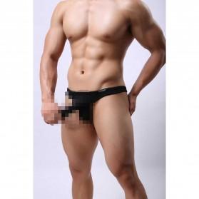 Celana Dalam Thong Hombre Pria Size L - Black
