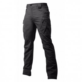 Celana Panjang Cargo Pria Tactical Waterproof - Size M - Black
