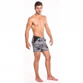 Celana Pendek Santai Pria Camouflage Size S - Army Gray - 3