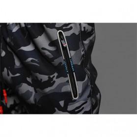 LIEXING Celana Jogger Pria Model Tactical Army Size L - L10834 - Black - 6