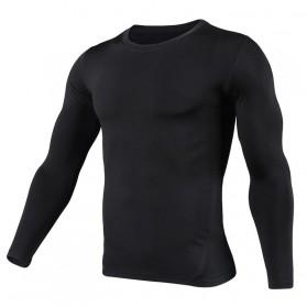 HeroBiker Baju Olahraga Pria Compression Longjohn Thermal Underwear Longjohn Size XL - Black - 2