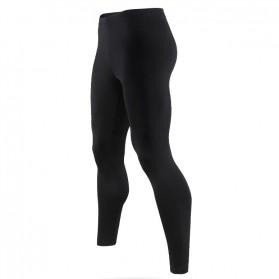 HeroBiker Baju Olahraga Pria Compression Longjohn Thermal Underwear Longjohn Size XL - Black - 3