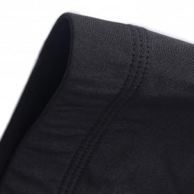 HeroBiker Baju Olahraga Pria Compression Longjohn Thermal Underwear Longjohn Size XL - Black - 4
