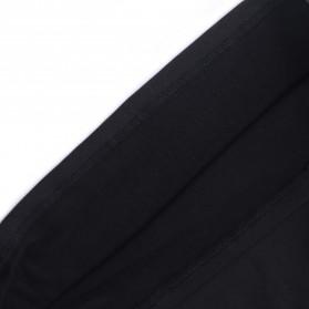 HeroBiker Baju Olahraga Pria Compression Longjohn Thermal Underwear Longjohn Size XL - Black - 5