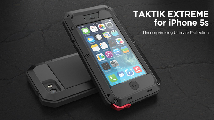 Lunatik Hardcase Armor Waterproof With Gorilla Glass For