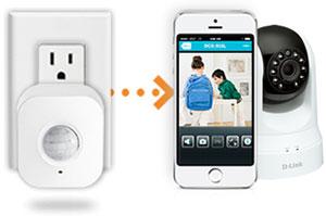 d link wireless n day night pan tilt cloud camera dcs 5020l white. Black Bedroom Furniture Sets. Home Design Ideas