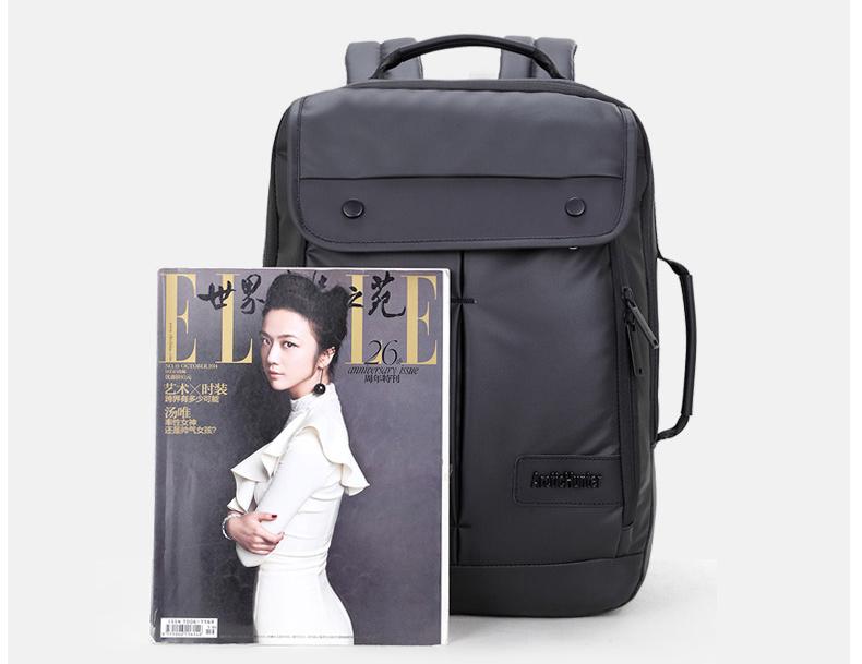 Tas ini dilengkapi komparmen khusus untuk menaruh laptop dengan ukuran maksimal 16 inch.