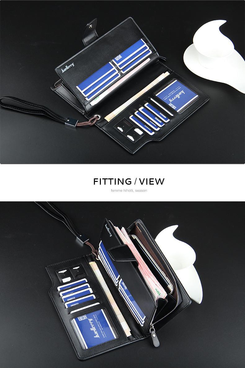 Tas dompet yang menggunakan kunci model zipper atau resleting yang mudah digunakan, tidak mudah rusak dan dapat dibuka lebih cepat. Dompet ini nyaman di ...