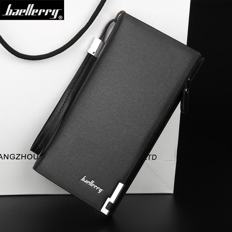 Baellerry Dompet Kulit Pria Kasual - SW002 - Black - JakartaNotebook.com e19e0c8342