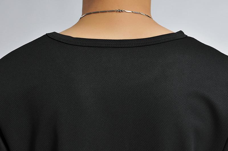 baju olahraga mesh pria o neck size l 85301 t shirt