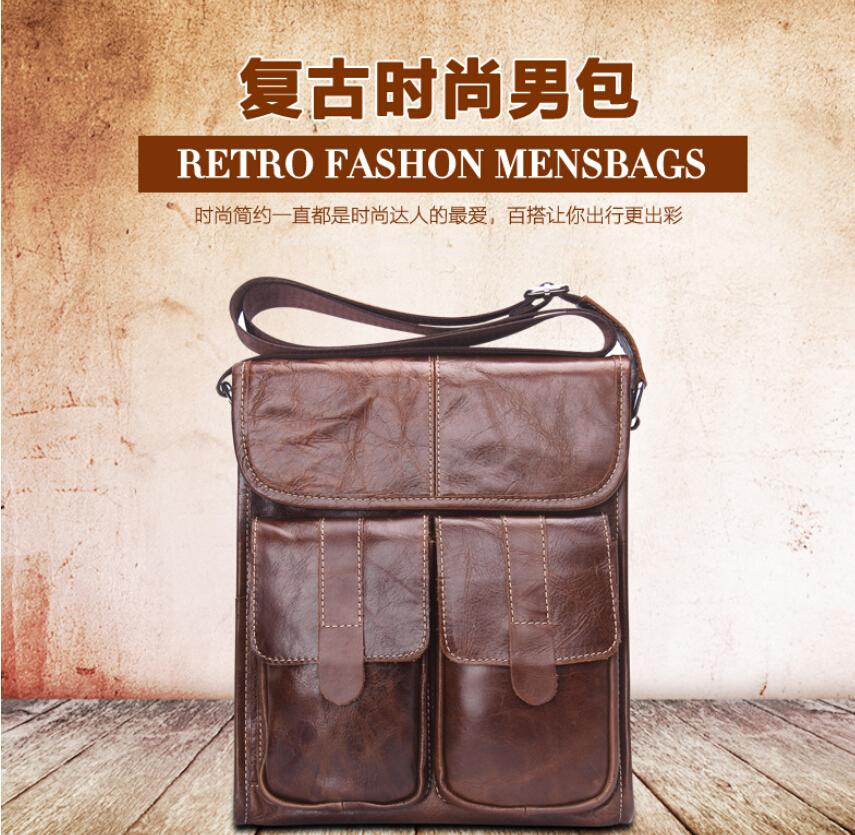 Contacts Tas Selempang Pria Retro - C5G116 - Brown - JakartaNotebook.com c6e8c7141b0dc