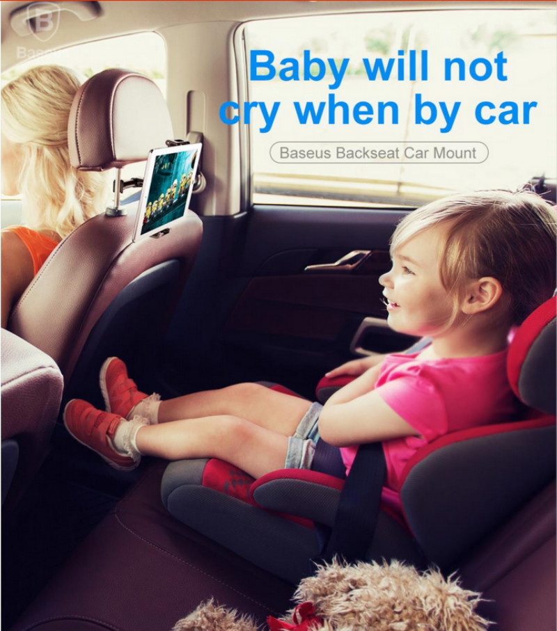 Baseus Backseat Smartphone Holder Mobil - SUYL-B01 1