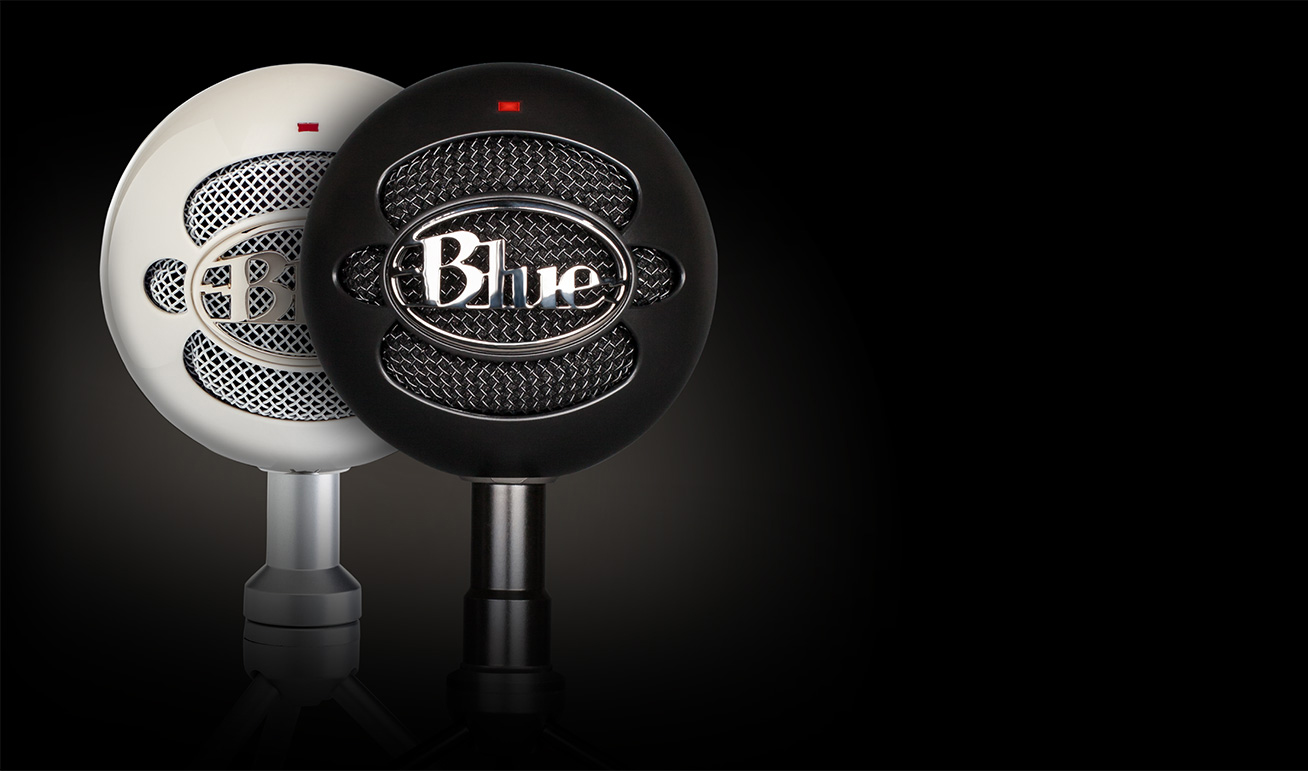 Blue Snowball Ice Desktop Usb Microphone Skype Certified