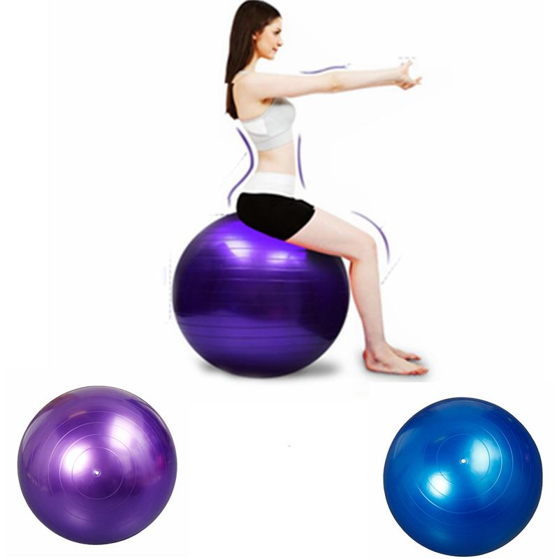 Balance Ball Chair Youtube: Bola Yoga Pilates Fitness Gym 65CM