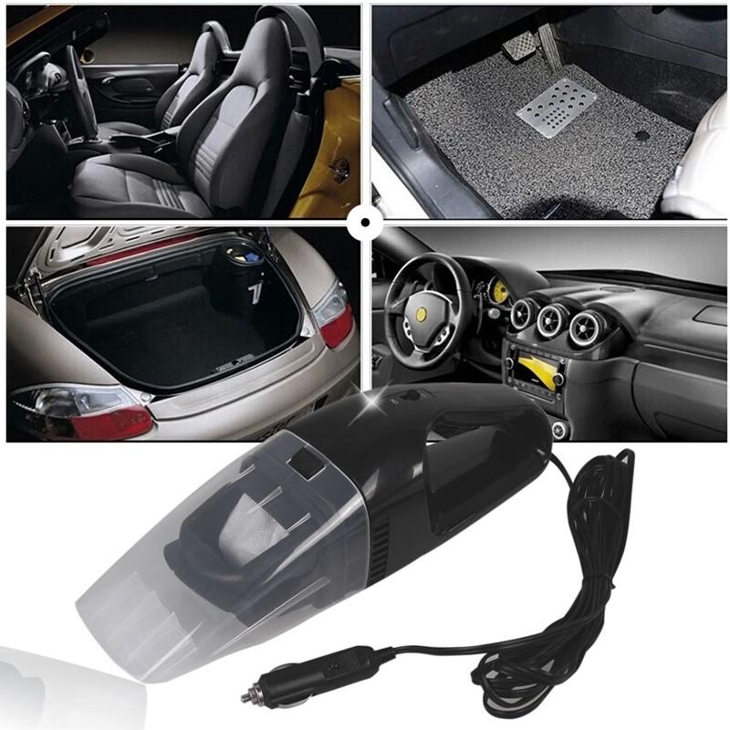 Car Vacuum Cleaner 75w Mesin Penyedot Debu Mobil Black