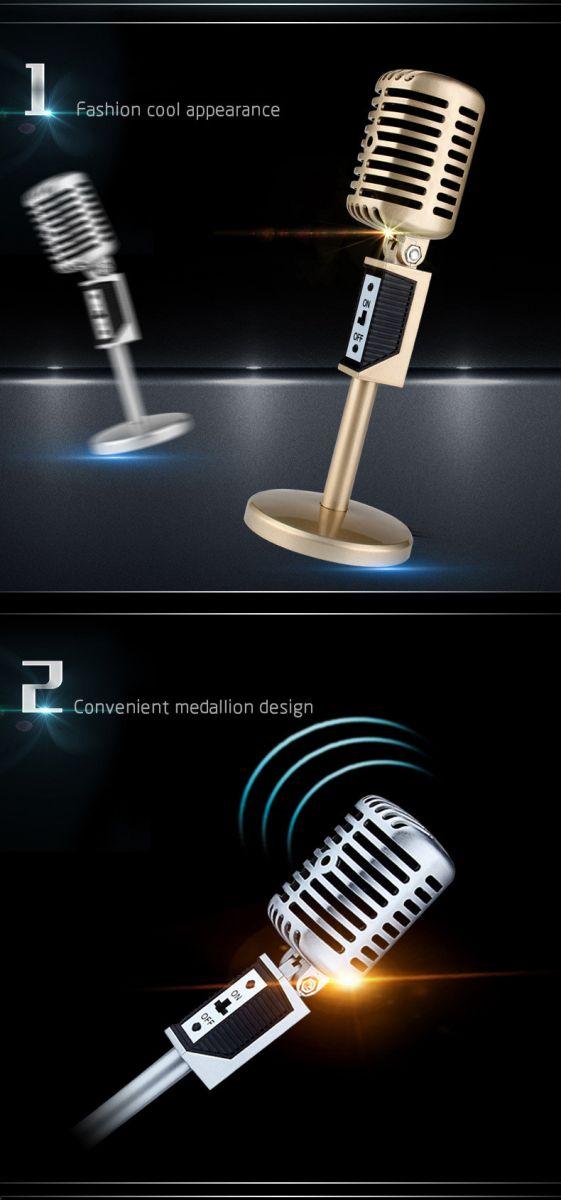 Overview of Professional Condenser Microphones Jazz Vintage